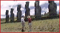 Eyes That Look At The Sky: The Mystery Of Easter Island - 50 Minutes - DVD - $28
